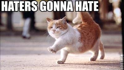 hatersgonnahate